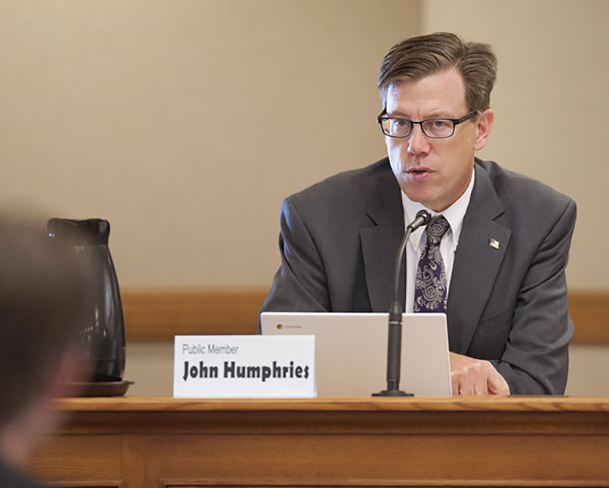 State superintendent candidate John Humphries plans to change Wisconsin's educational process of creating report cards for schools if elected in the Feb. 21 race.