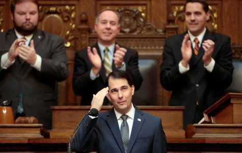Governor Scott Walker delivered his tuition-cut proposal during his State of the State Address on Jan. 10.