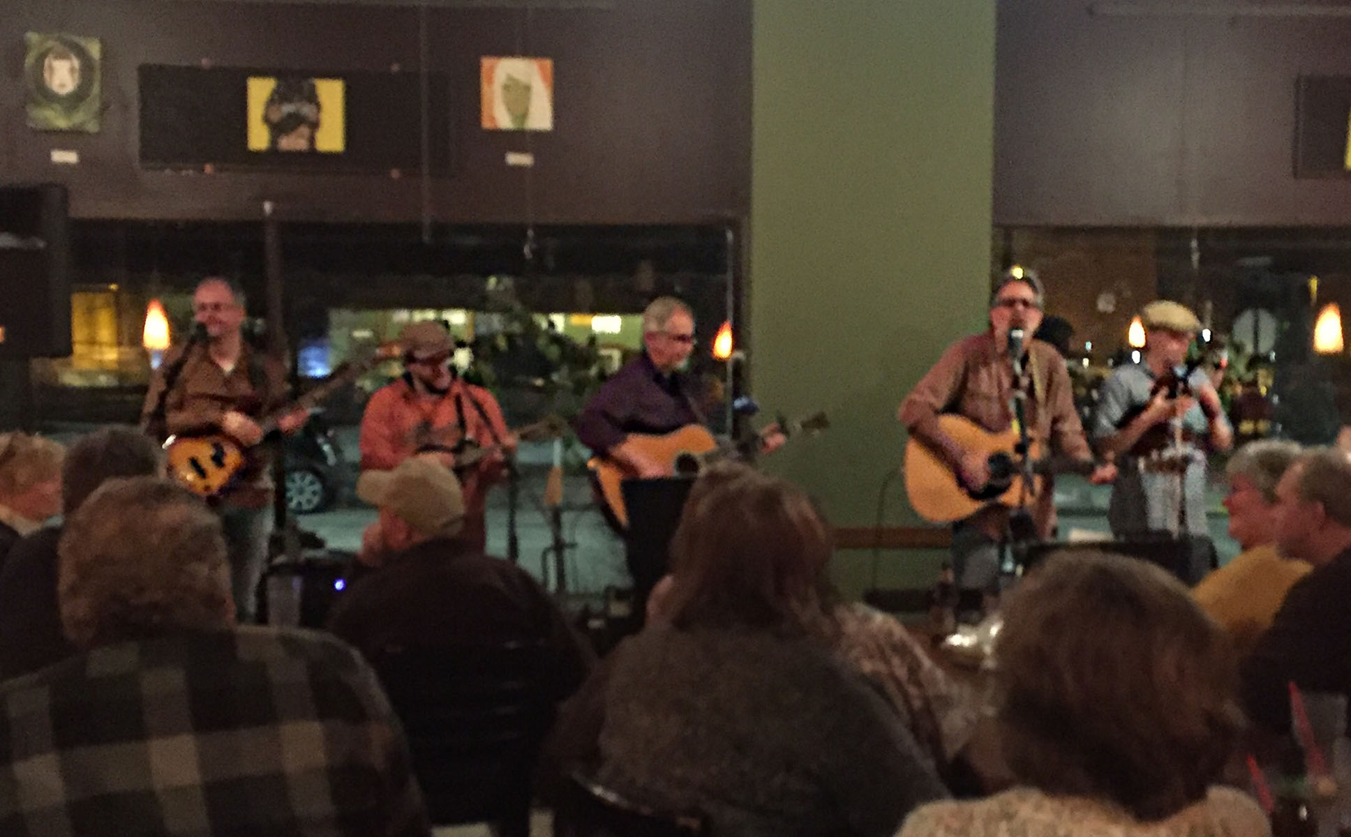 Eggplant Heroes, a local Americana group, performed to a packed house 7-10 p.m. Saturday night at Acoustic Cafe.