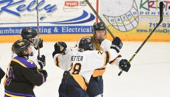 Women's hockey advances to the WIAC Championship