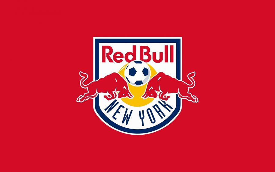 The logo for Major League Soccer's New York Red Bulls resembles a logo that belongs more so on the front of a can than a soccer jersey.