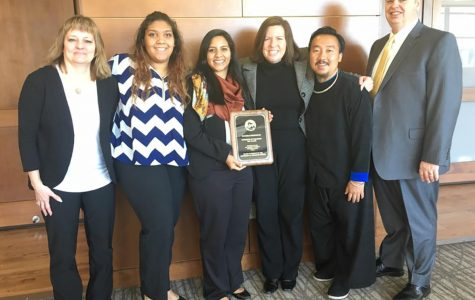 Blugold Beginnings receives the 2017 Board of Regents Diversity Award