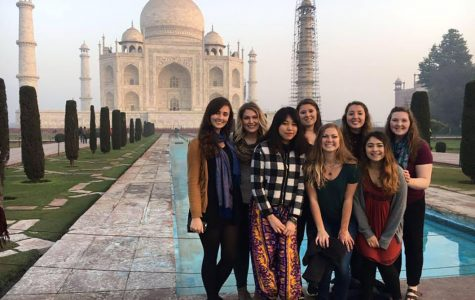 Women's studies students learn about feminism and cultural differences in India