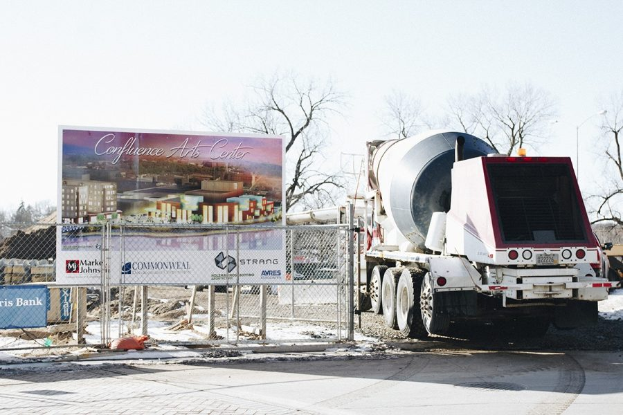 Assistant Chancellor Mike Rindo said Geopiers are being installed and the project is going according to schedule.