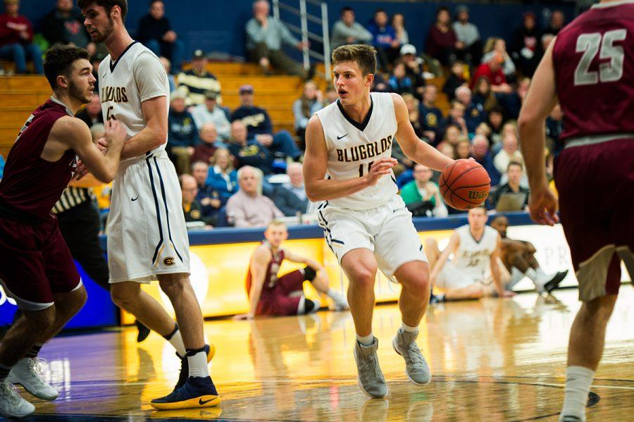 With a season record of 18-8 and WIAC record of 8-6, the Blugolds have four men represented on the WIAC All-Conference list. WIAC is deemed to be one of the more difficult collegiate leagues in the nation.