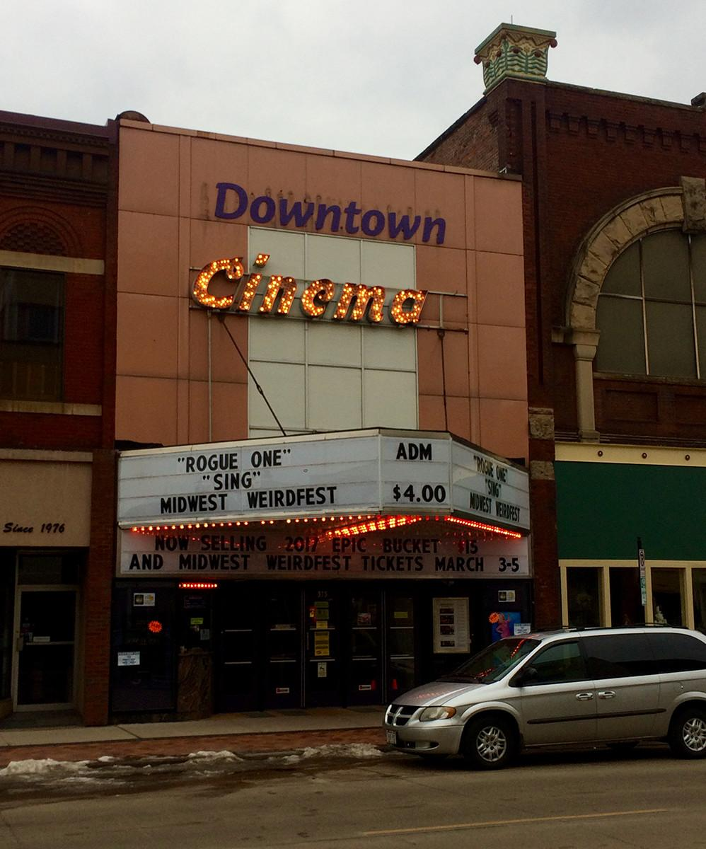 Cinemas in downtown Eau Claire hosted MidWest WeirdFest from March 3-5.