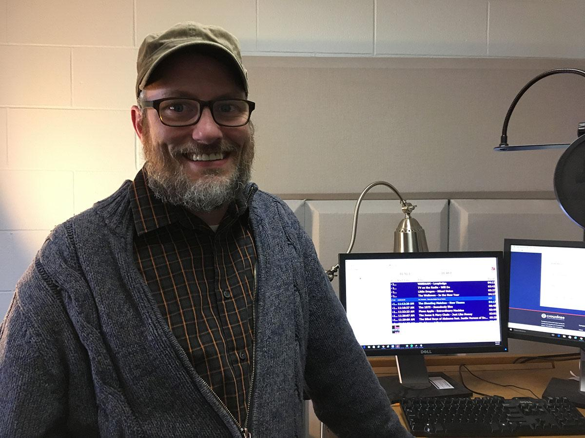 Scott Morfitt, the station manager of Blugold Radio, said the fundraising goal was met Wednesday, hitting the $7,000 mark to help with construction costs.
