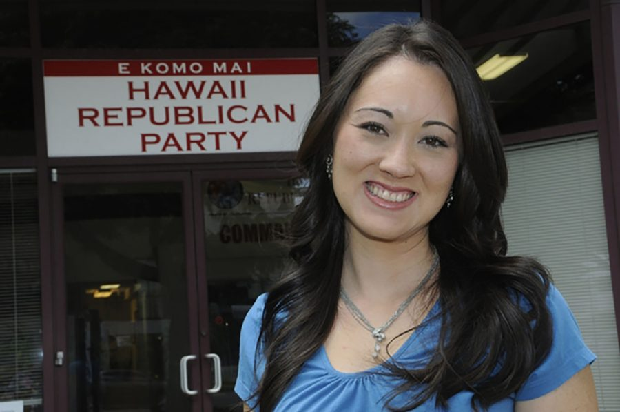 After saying Trump's remarks had no place in the Republican Party, Rep. Beth Fukumoto was voted out of her leadership seat in the statehouse and subsequently resigned from the GOP.