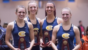Blugold track finishes season strong at NCAA Indoor Championships