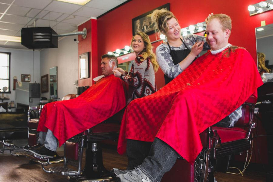 Roy's Barbershop employs three full-time female barbers who work to provide customers with a traditional barbershop experience.