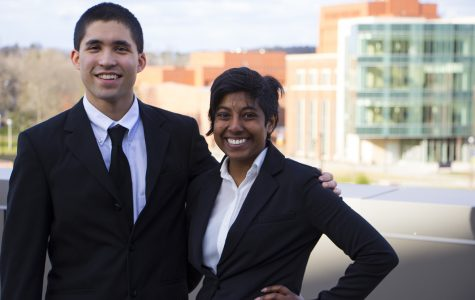 Ashley Sukhu and Colton Ashley, student body president and vice president respectively, will finish out their roles in the coming week.