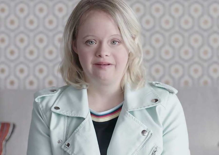 """Lauren Elizabeth Potter, an actress with Down syndrome, stars as the spokesperson in the """"Not Special Needs"""" video, created by CoorDown."""