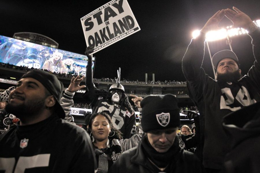 Teams such as the Las Vegas Raiders (formerly Oakland Raiders) relocating has caused a lot of controversy in and around professional sports.