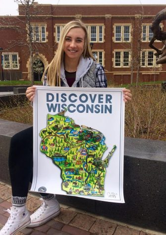 Familiar Faces: The student behind the UW-Eau Claire Snapchat account