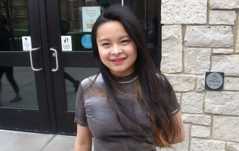 President of the Chinese Culture Club and international student, Zhenyu Zhou, has attended UW-Eau Claire for three years. She originally came from the metropolitan city of Kunming in South China and views the International Folk Fair as an opportunity for students to represent their cultures in a truthful and engaging manner.
