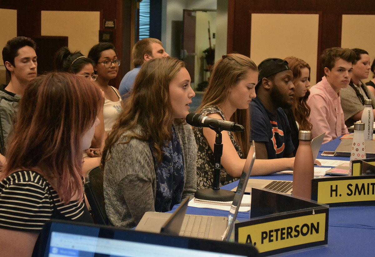 Student Senate passed a resolution in support of DACA and one in support of continued shared governance in the UW System. A bill to amend the Student Office of Sustainability (SOS) Bylaws was also passed.