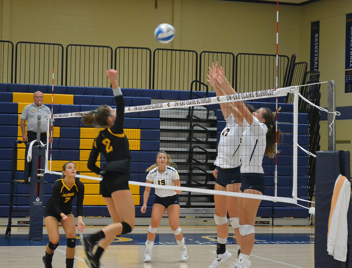 UW-Eau Claire's volleyball team played in the Nike/Eastbay Fall Classic at the McPhee center on Friday and Saturday.