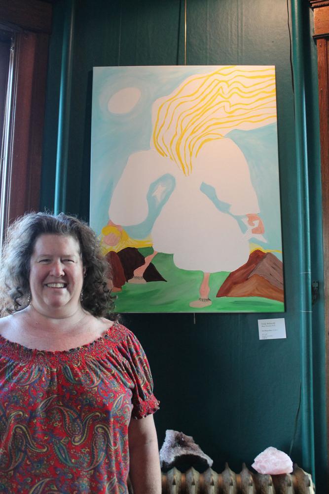 Galaudet Gallery's summer exhibition, East Meets West, displays artwork until Sept. 18.
