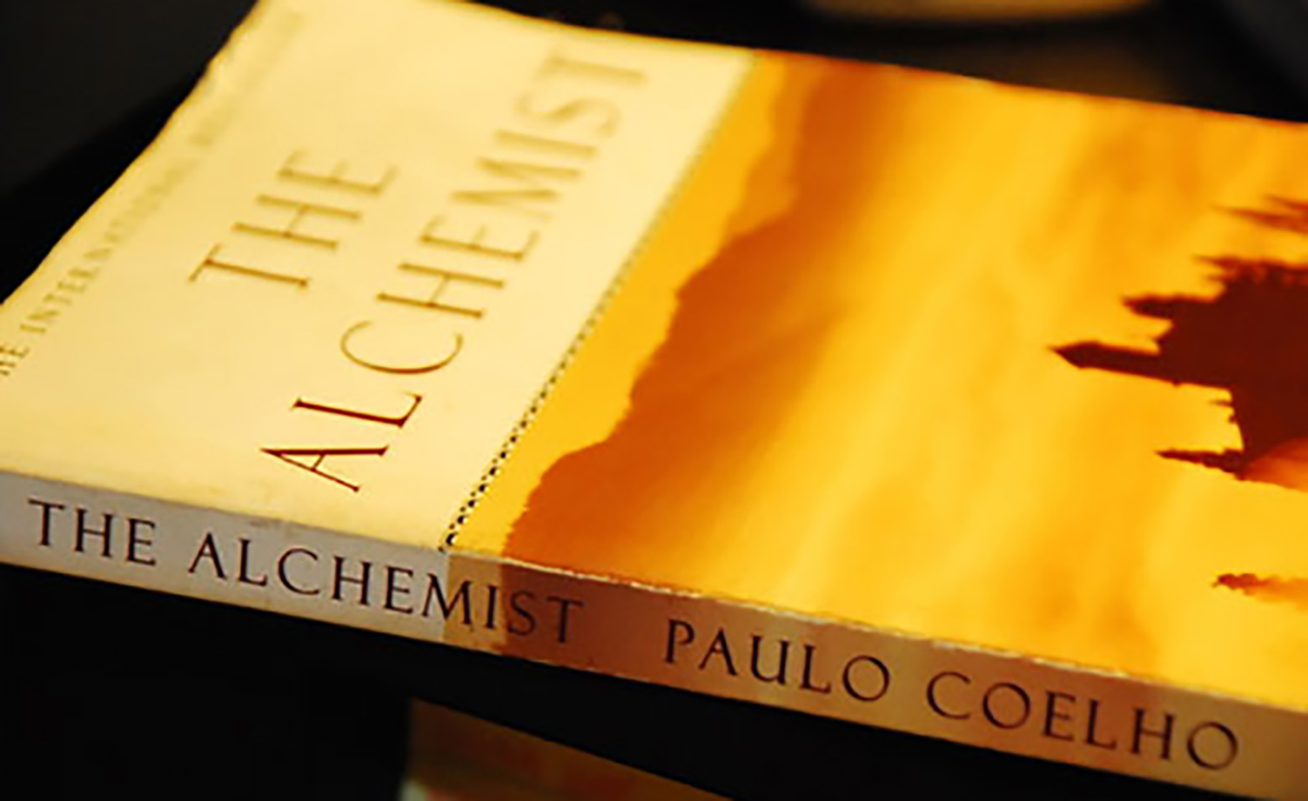 'The Alchemist' reminds readers to follow their dreams, in a simple way.
