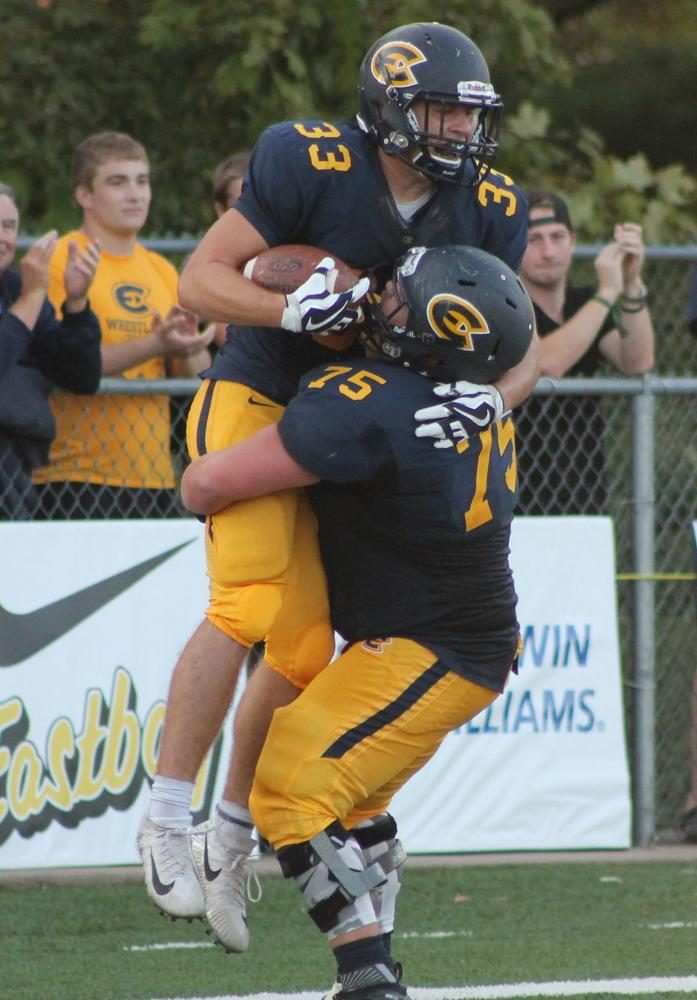 Blugold football earned its first win of the season against the Wisconsin Lutheran Warriors at Carson Park this past Saturday, finishing the game with a score of 34-20.