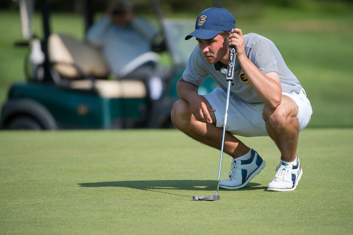 The UW-Eau Claire men's golf team played in the Twin Cities Classic on Saturday and Sunday.