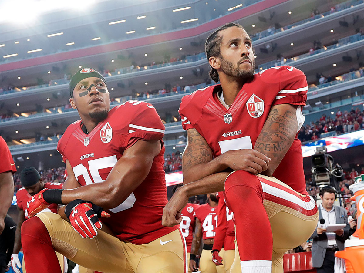 Colin Kaepernick kneeled during a preseason game in 2016, causing the debate of players using their platforms for political expression to stir.