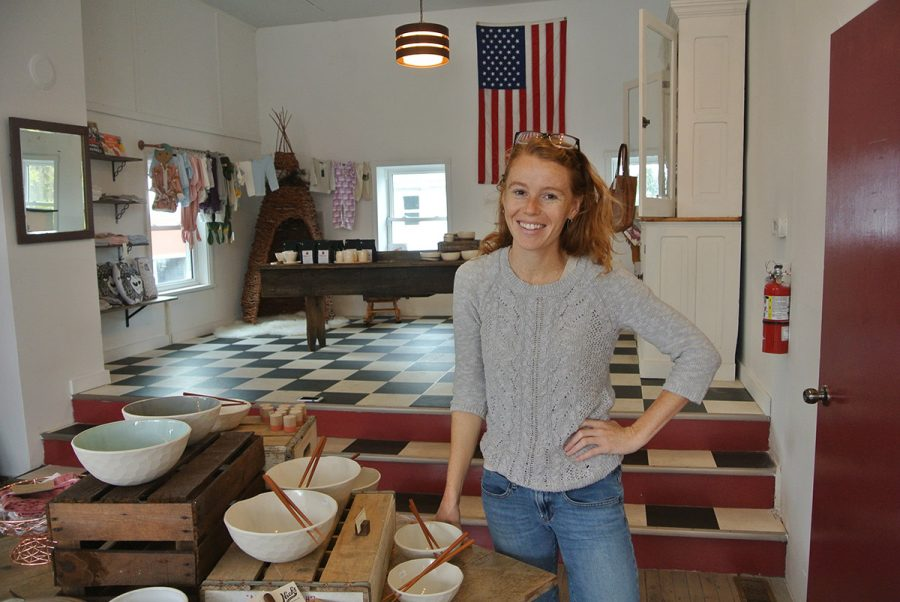 Becca Cooke, owner of Red's Mercantile, created the Red Letter Grant in November 2016.