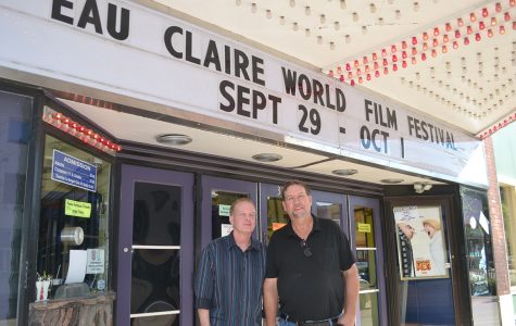 Chris Herriges and Dan Coffeen, the co-directors of the Eau Claire World Film Festival, screened more than 45 films this past weekend.