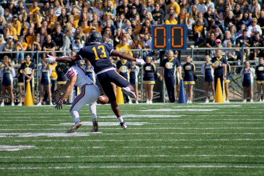 The Blugolds take on Stevens Point at Goerke Field, but come up short offensively.