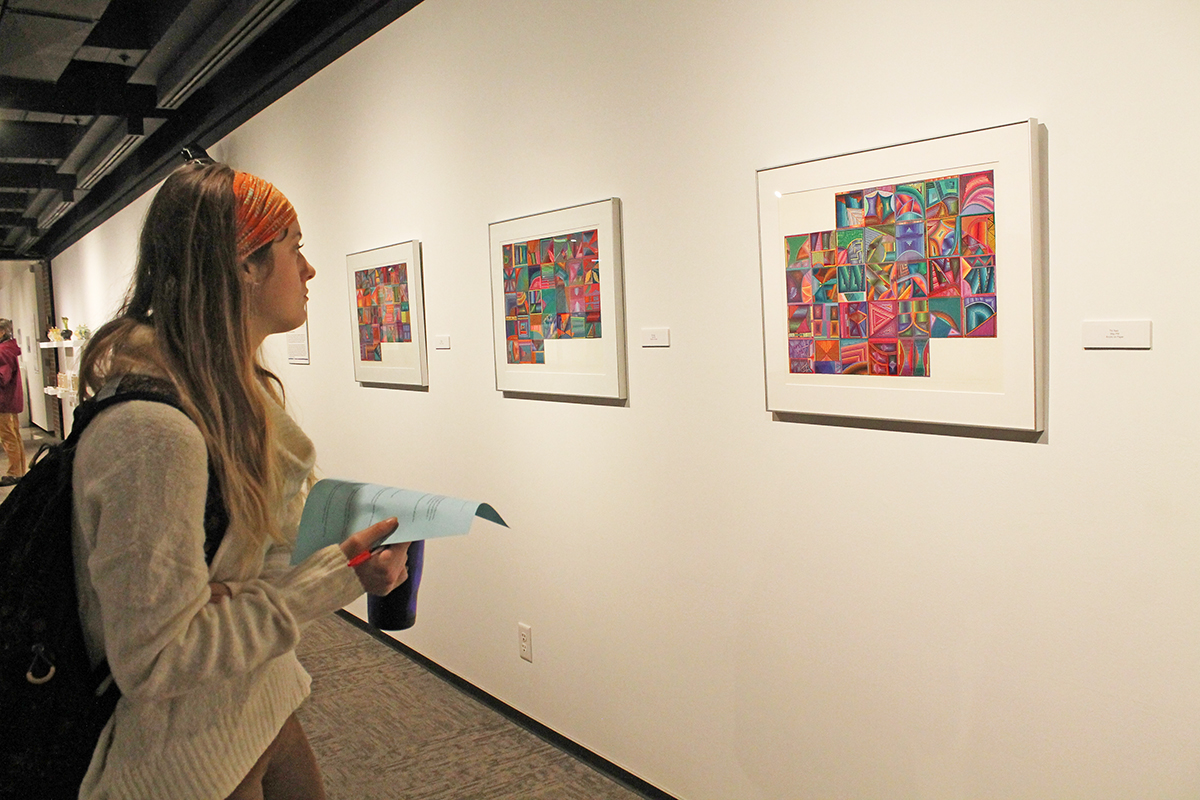"UW-Eau Claire Foster Gallery presents ""Color,"" an exhibit highlighting artwork between artists and scientists."