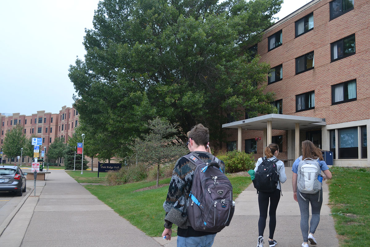 Towers renovation results in on-campus housing shortages. Returning students expected to live in off-campus facilities for the 2018-19 academic year.