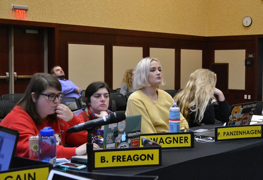 Student Senate introduces bill proposing to allocate money to the Confluence Arts Center project and one proposing to amend the Student Senate Bylaws.