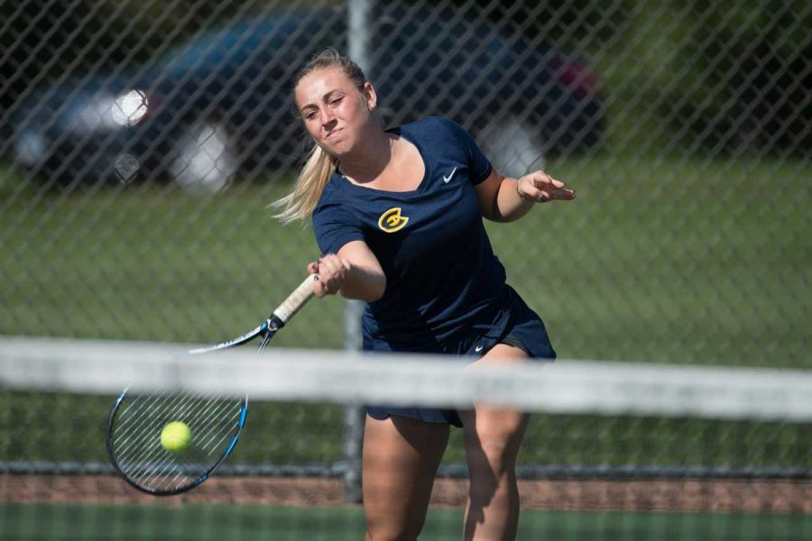 Kendra Berry, a UW-Eau Claire sophomore beat her competitors in the WIAC Championship and progressed to the finals.