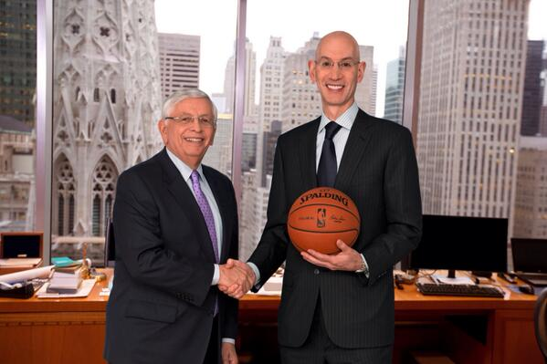 David Stern and Adam Silver are among those that support eliminating the marijuana ban from the NBA.