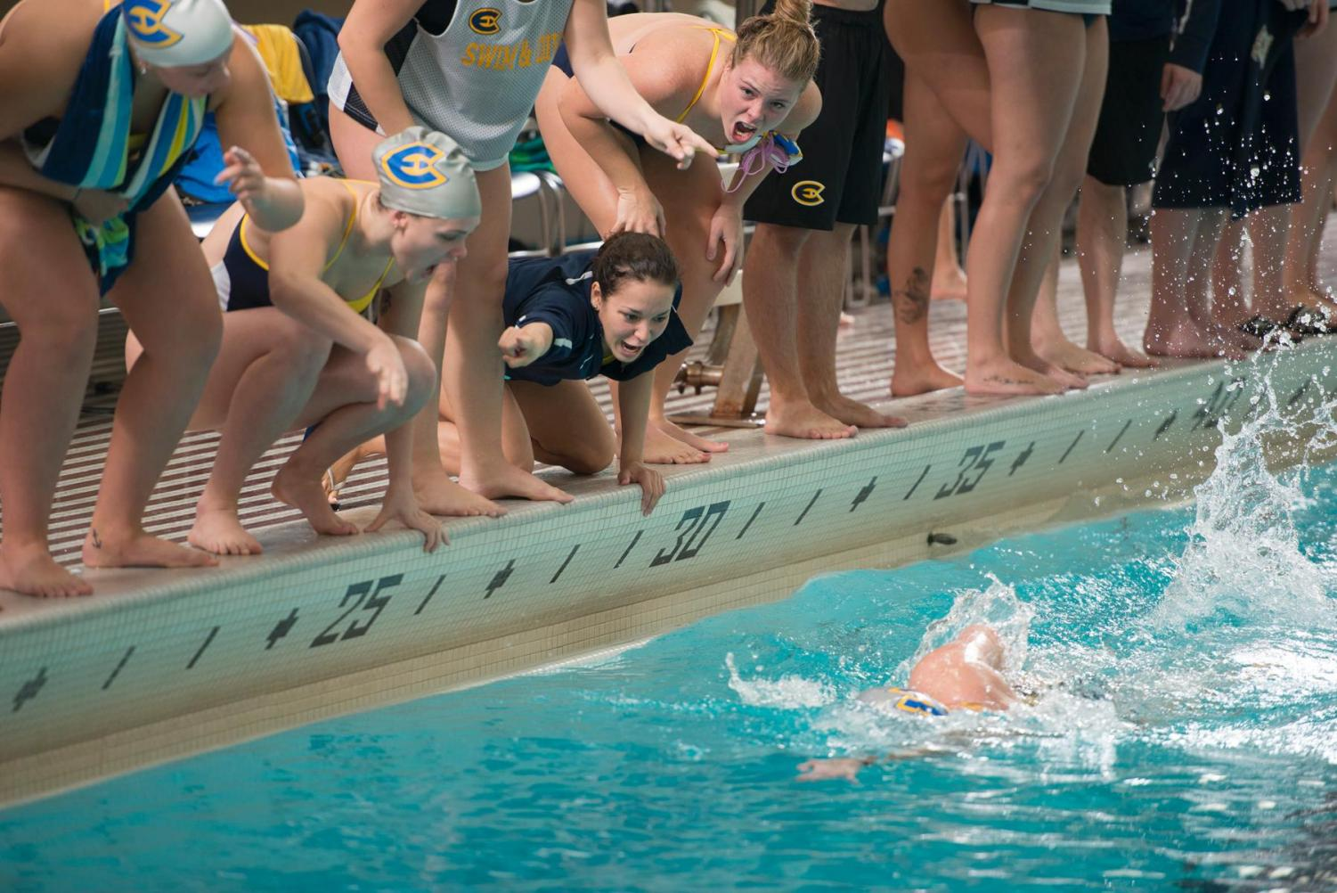 With two meets under the swim team's belt, the Blugolds are showing early season promise.