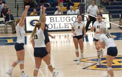 UW-Eau Claire volleyball ends regular season by knocking off No. 1 team in the country