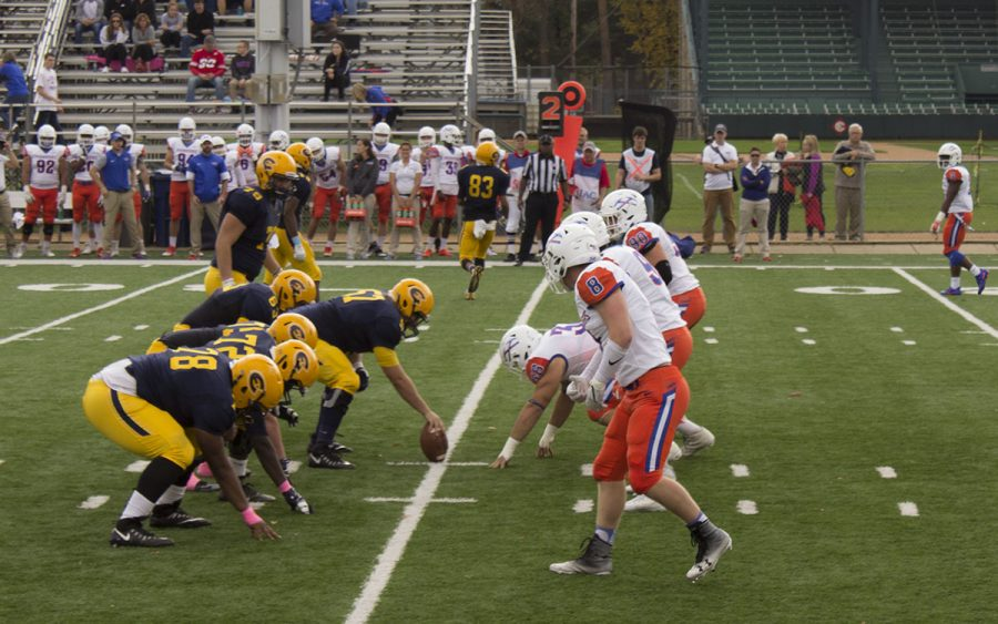 UW-Eau+Claire%E2%80%99s+football+team+was+defeated+by+UW-Platteville+in+last+Saturday%27s+game+at+Carson+Park.