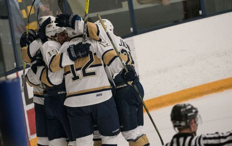 The Blugolds emerge victorious against the Foresters
