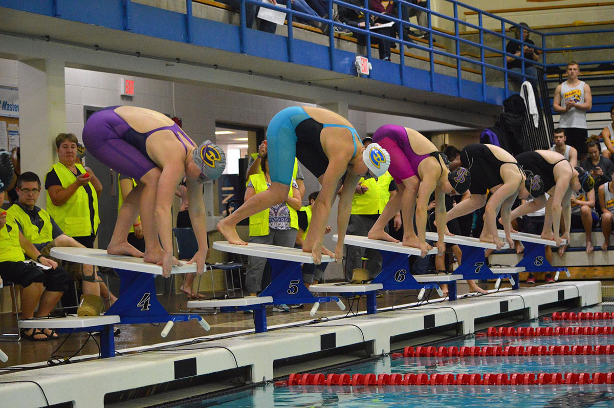 The Blugold swim and dive team took down Luther on the road this past weekend, emerging victorious on both the men's and women's sides.