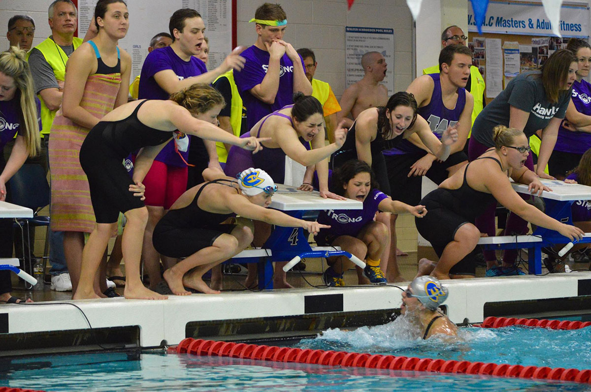 UW-Eau Claire's swim team has high hopes for their upcoming season.