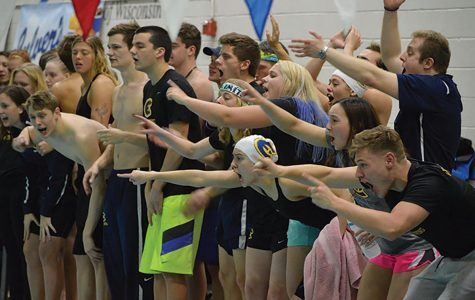 UW- Eau Claire swim team defeated UW- Oshkosh in last weekends meet.