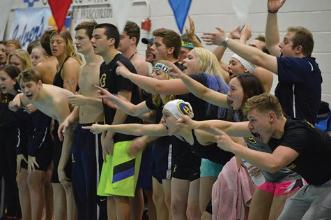UW- Eau Claire swim team starts the season with a victory