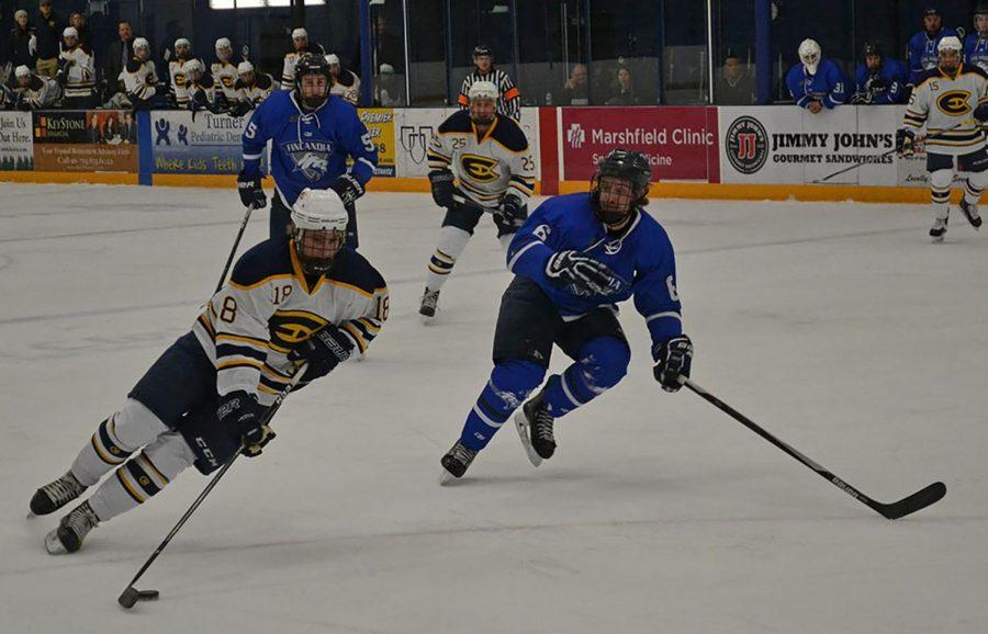 Men's hockey won twice over the weekend, taking down Finlandia University.