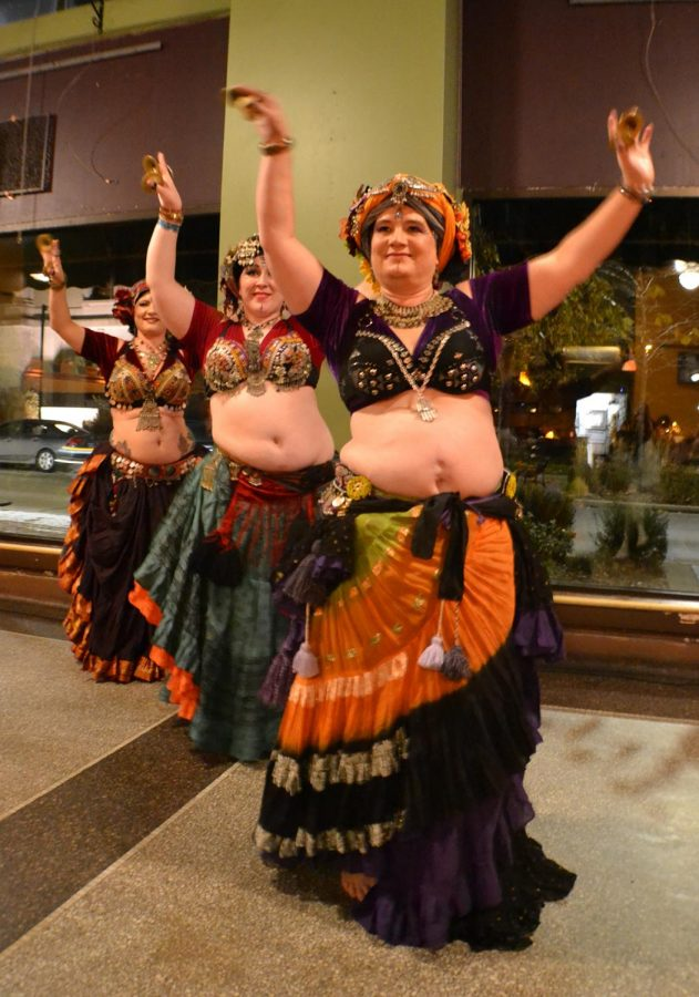 Belly dancing brings multiple troupes together with dances at the annual Belly Blast.