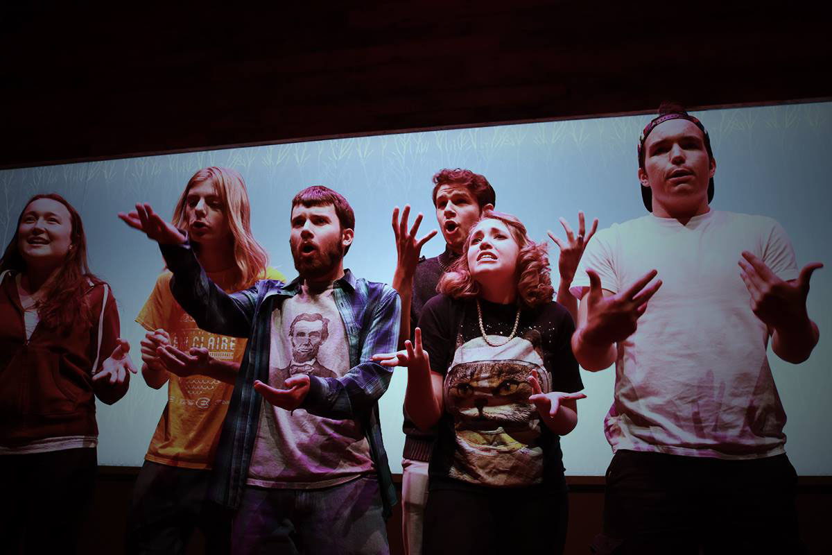 The Backwards Thinkers Society is an improv organization on campus and perform every other Thursday at The Cabin from 7-9 p.m.