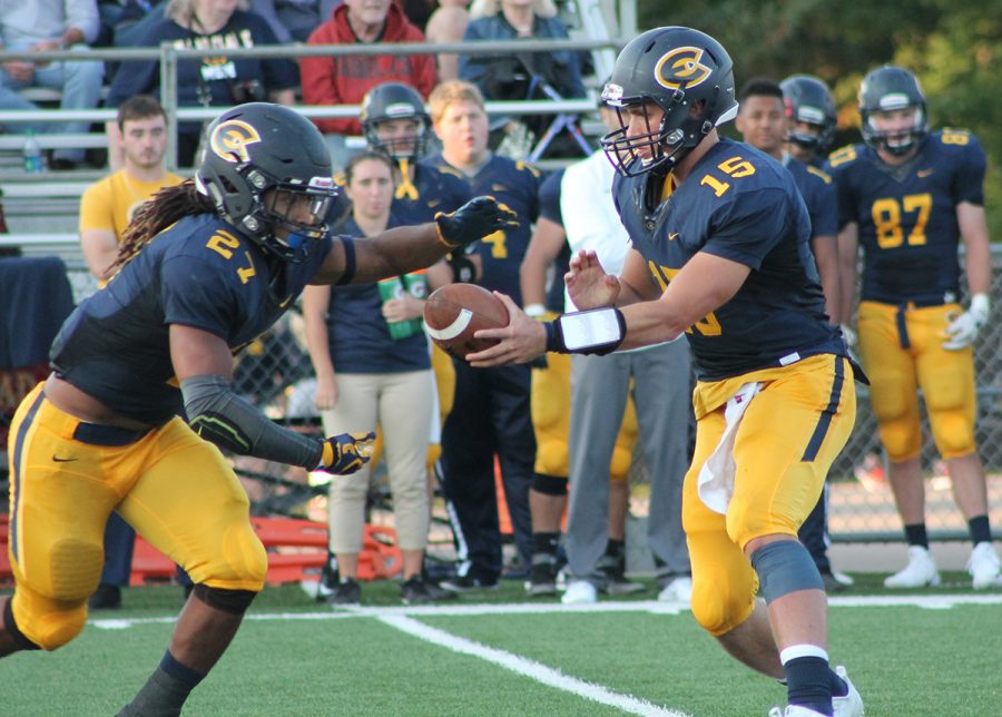 UW-Eau Claire's football team fell to UW-Stout on Saturday at Carson Park.