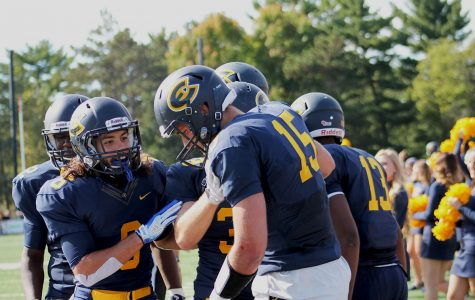 Blugolds dominated by No. 3 Titans