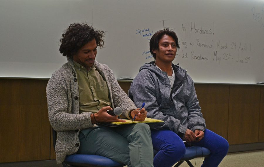 Latin American Studies week came to a close Tuesday night with Gaspar Sánchez speaking about sexual diversity and indigenous peoples rights in Honduras.