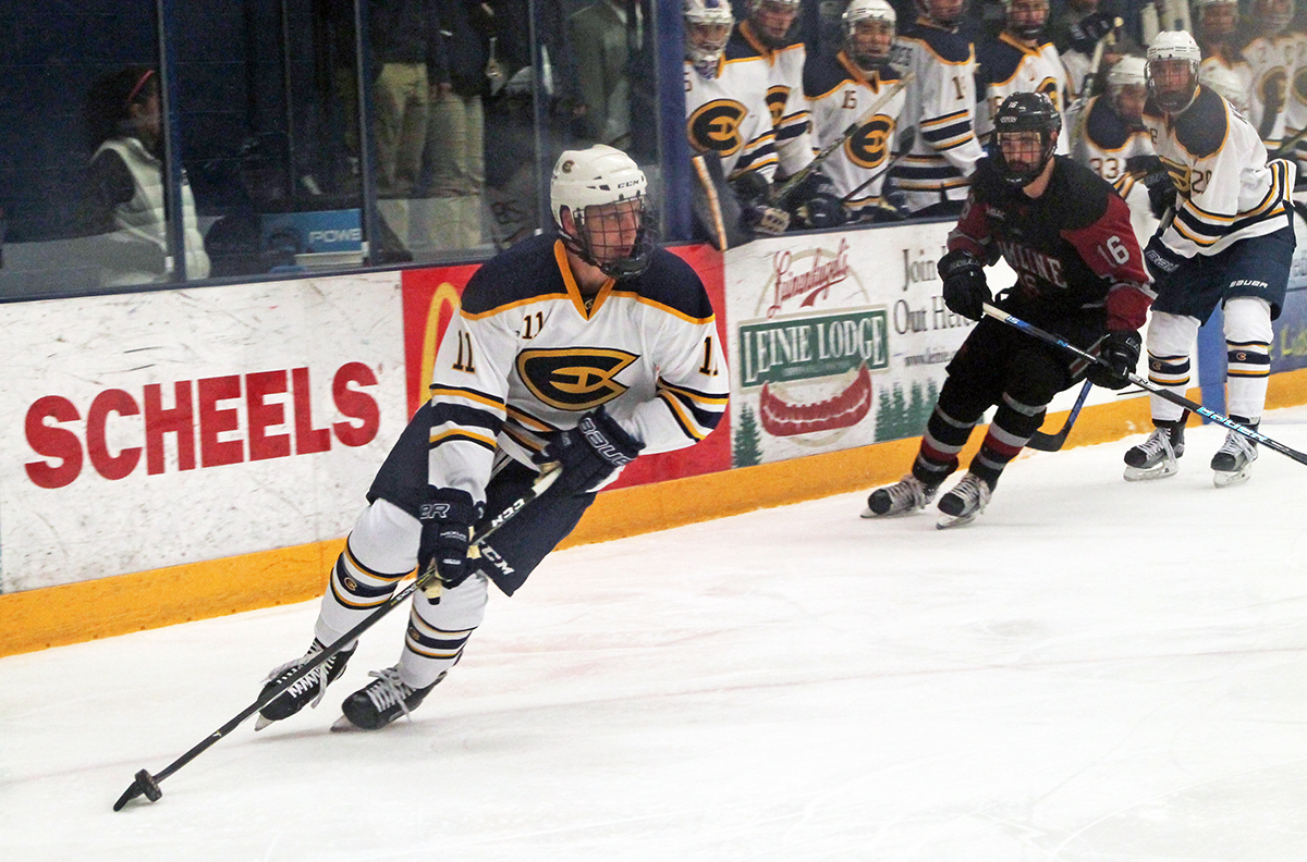 Men's hockey secured victories in both games at home over the weekend.