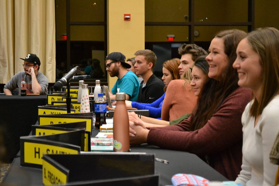Senate also approved four new campus organizations: UWEC Blugold Mile, Music and Memory, Organization for Meditation, and CHAARG.